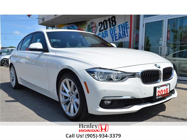 2016 BMW 3 Series 2016 BMW 3 Series - Sdn 328i xDrive (Stk: B0880) in St. Catharines - Image 1 of 26