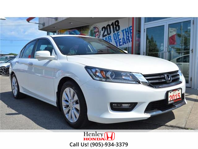 2015 Honda Accord Sedan 2015 Honda Accord Sedan - 4dr I4 CVT EX-L (Stk: R9534) in St. Catharines - Image 1 of 23