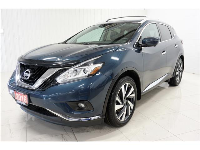 2016 Nissan Murano Platinum (Stk: P5483A) in Sault Ste. Marie - Image 1 of 26