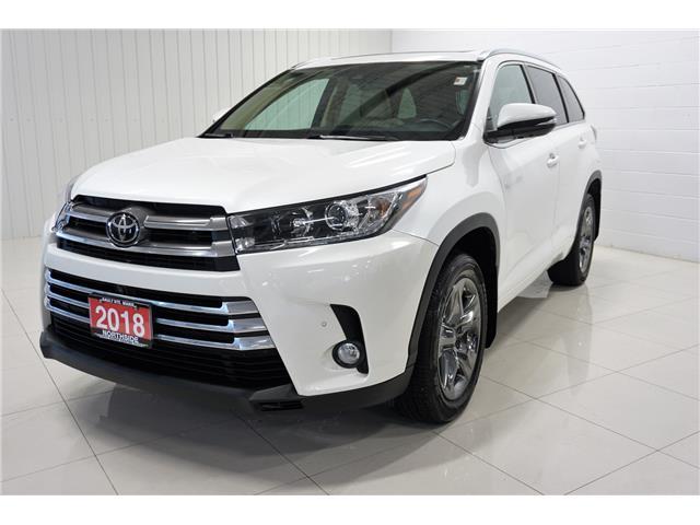 2018 Toyota Highlander Limited (Stk: P5453) in Sault Ste. Marie - Image 1 of 25