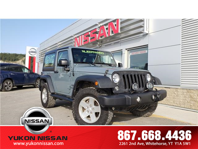 2015 Jeep Wrangler Sport (Stk: 9T5559A) in Whitehorse - Image 1 of 16