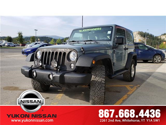 2015 Jeep Wrangler Sport (Stk: 9T5559A) in Whitehorse - Image 2 of 16