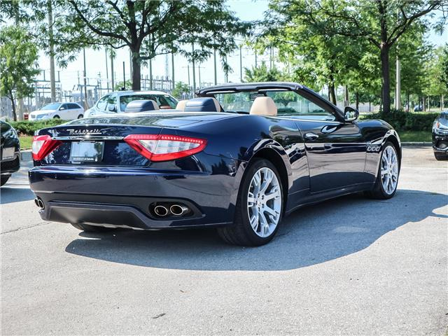 2012 Maserati GranTurismo Base (Stk: U408) in Oakville - Image 5 of 18