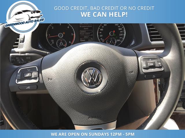 2013 Volkswagen Passat 2.0 TDI Highline (Stk: 13-70599) in Greenwood - Image 11 of 18