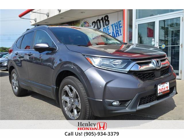 2017 Honda CR-V EX AWD SUNROOF ALLOY WHEELS BACK UP (Stk: B0872) in St. Catharines - Image 1 of 21