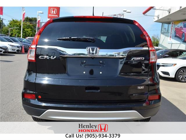 2016 Honda CR-V 2016 Honda CR-V - AWD BLUETOOTH HEATED SEATS  (Stk: R9528) in St. Catharines - Image 6 of 22