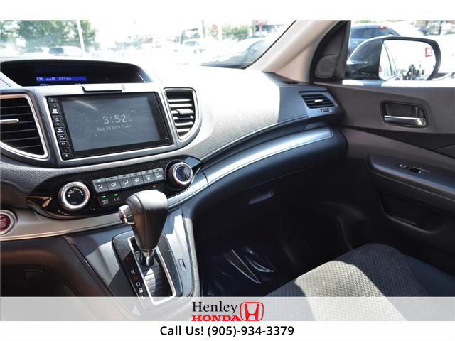 2016 Honda CR-V 2016 Honda CR-V - AWD BLUETOOTH HEATED SEATS  (Stk: R9528) in St. Catharines - Image 10 of 22