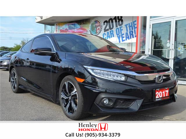 2017 Honda Civic Coupe 2017 Honda Civic Coupe - CVT Touring (Stk: B0886) in St. Catharines - Image 1 of 23