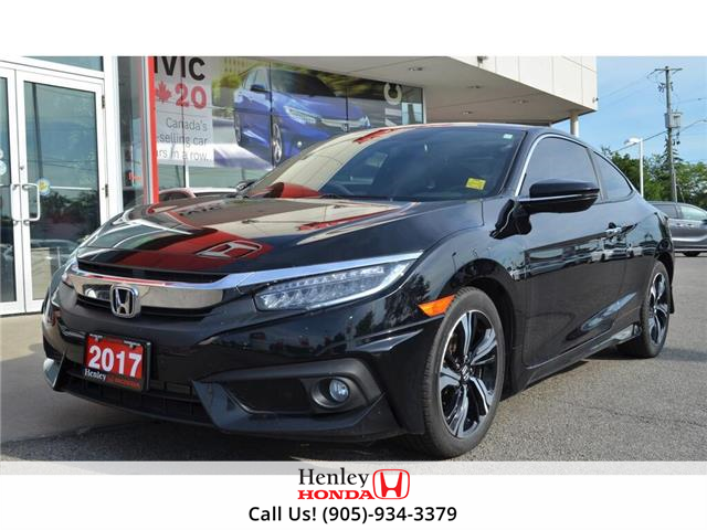 2017 Honda Civic Coupe 2017 Honda Civic Coupe - CVT Touring (Stk: B0886) in St. Catharines - Image 4 of 23