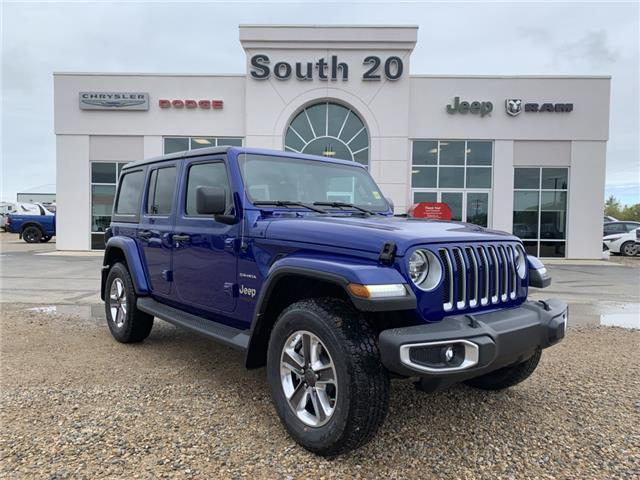 2019 Jeep Wrangler Unlimited Sahara (Stk: 32544) in Humboldt - Image 1 of 29