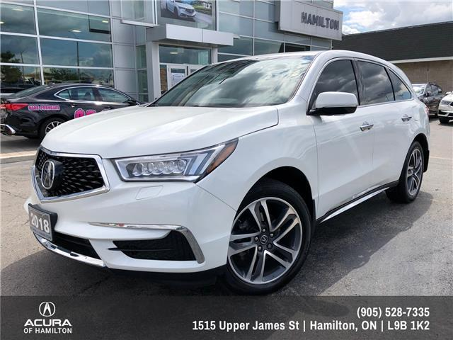 2018 Acura MDX Navigation Package (Stk: 1816890) in Hamilton - Image 1 of 30