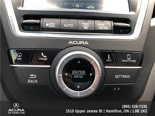 2018 Acura MDX Navigation Package (Stk: 1816890) in Hamilton - Image 23 of 30