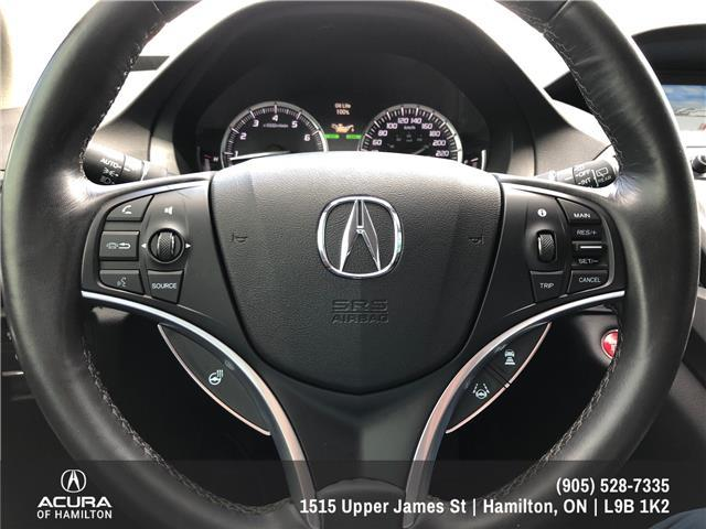 2018 Acura MDX Navigation Package (Stk: 1816890) in Hamilton - Image 25 of 30