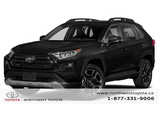 2019 Toyota RAV4 Trail (Stk: W009098) in Brampton - Image 1 of 9