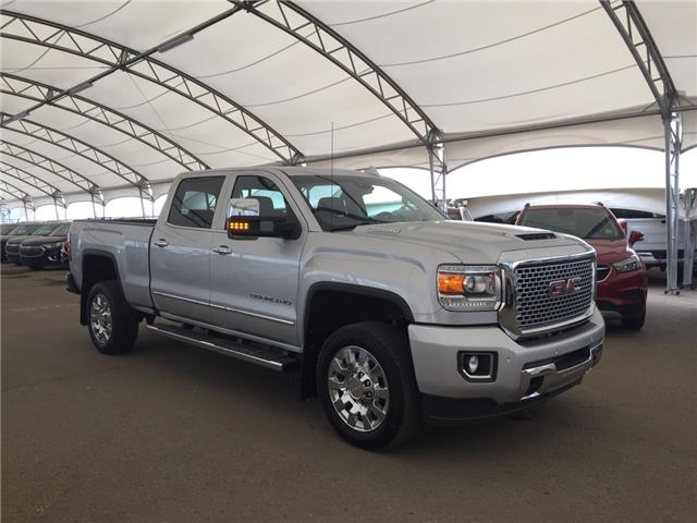 2017 GMC Sierra 2500HD Denali (Stk: 155873) in AIRDRIE - Image 1 of 32