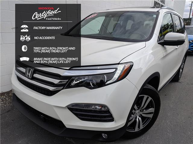 2017 Honda Pilot EX-L RES (Stk: H07121A) in North Cranbrook - Image 1 of 18