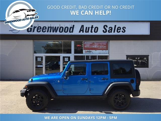 2015 Jeep Wrangler Unlimited Sport (Stk: 15-90530) in Greenwood - Image 1 of 16