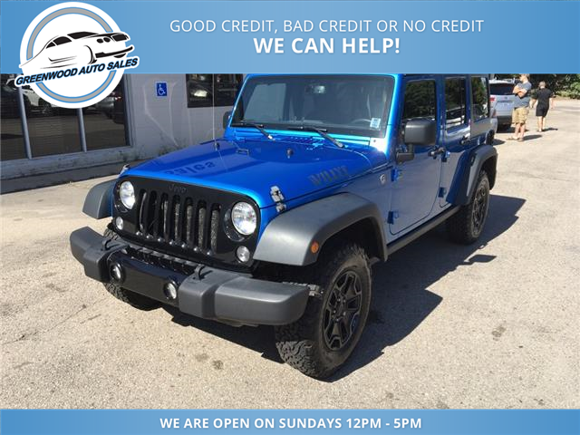 2015 Jeep Wrangler Unlimited Sport (Stk: 15-90530) in Greenwood - Image 2 of 16