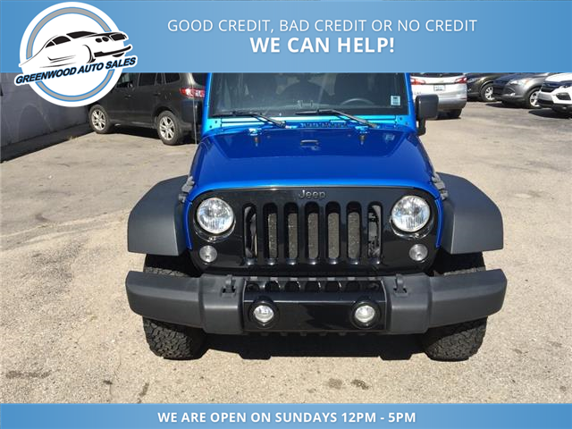 2015 Jeep Wrangler Unlimited Sport (Stk: 15-90530) in Greenwood - Image 3 of 16