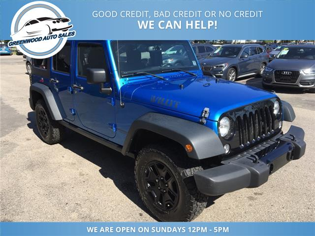 2015 Jeep Wrangler Unlimited Sport (Stk: 15-90530) in Greenwood - Image 4 of 16