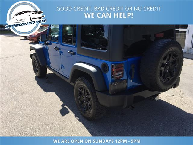 2015 Jeep Wrangler Unlimited Sport (Stk: 15-90530) in Greenwood - Image 8 of 16