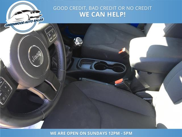 2015 Jeep Wrangler Unlimited Sport (Stk: 15-90530) in Greenwood - Image 15 of 16