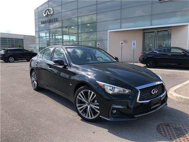 2018 Infiniti Q50 3.0T Sport (Stk: G18044) in London - Image 1 of 19