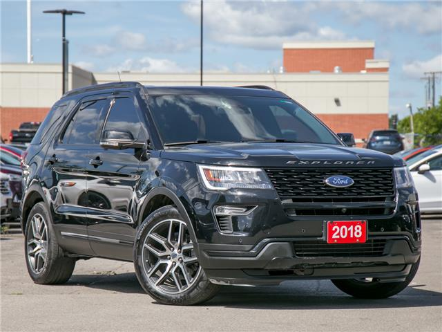 2018 Ford Explorer Sport (Stk: 1HL199) in Hamilton - Image 1 of 30