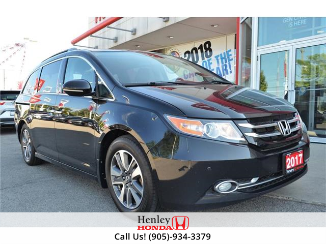 2017 Honda Odyssey 2017 Honda Odyssey - Touring FULLY LOADED (Stk: B0867) in St. Catharines - Image 1 of 30