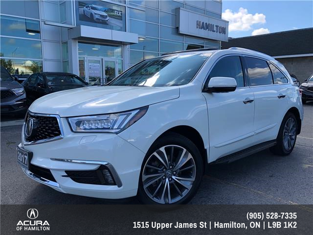 2017 Acura MDX Elite Package (Stk: 1716970) in Hamilton - Image 1 of 31