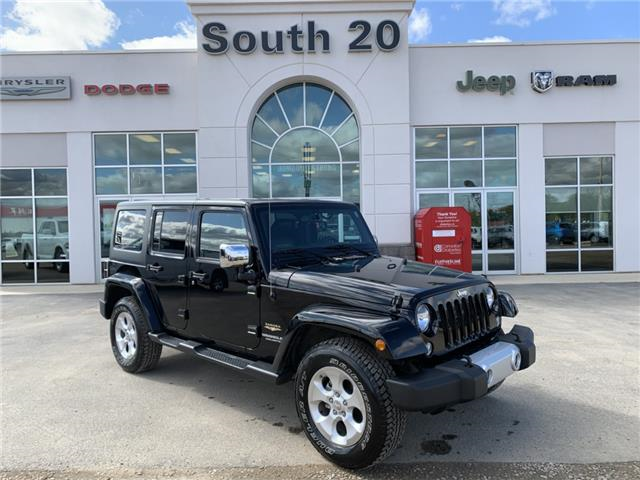 2015 Jeep Wrangler Unlimited Sahara (Stk: 32592A) in Humboldt - Image 1 of 21