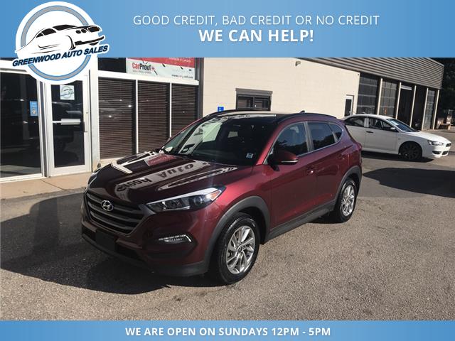 2016 Hyundai Tucson Premium (Stk: 16-46659) in Greenwood - Image 2 of 14