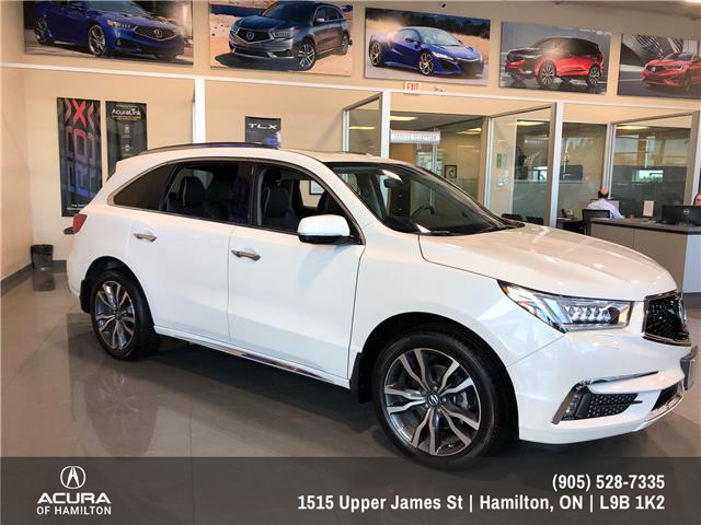 Acura Used Cars >> 2019 Acura Mdx Elite
