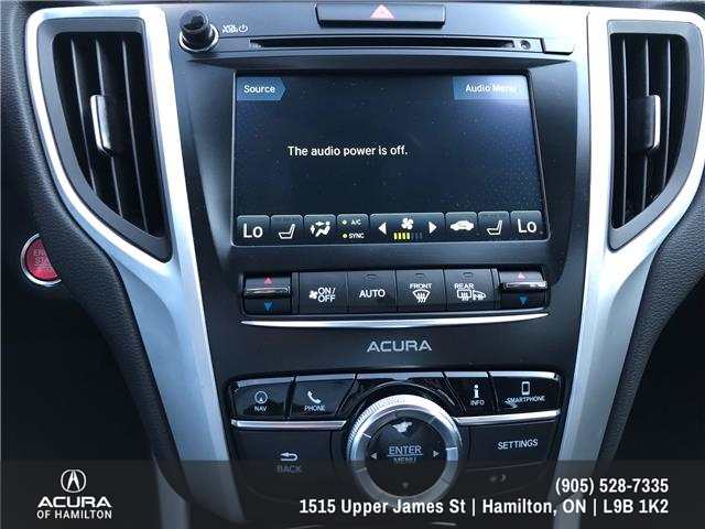 2019 Acura TLX Tech (Stk: 190187) in Hamilton - Image 25 of 27