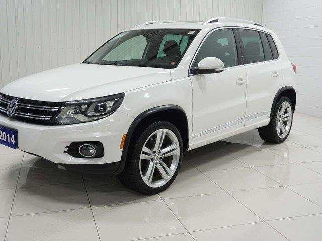 2014 Volkswagen Tiguan Highline (Stk: TI19014A) in Sault Ste. Marie - Image 2 of 22