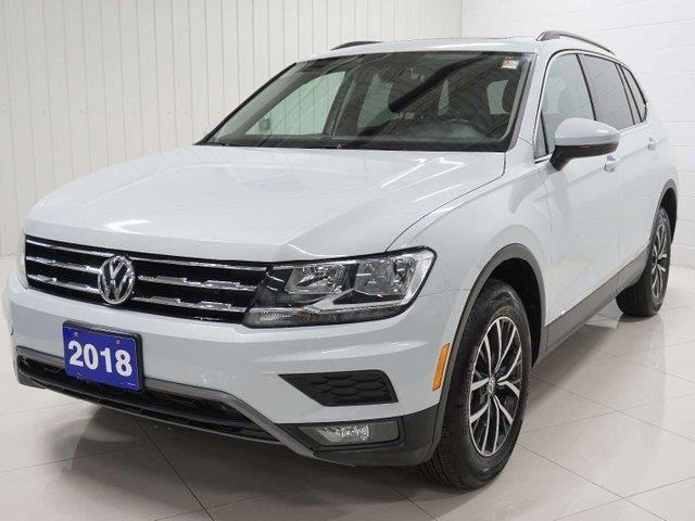 2018 Volkswagen Tiguan Comfortline (Stk: TI19049A) in Sault Ste. Marie - Image 1 of 22
