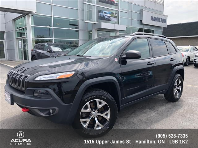 2016 Jeep Cherokee Trailhawk (Stk: 1601141) in Hamilton - Image 1 of 27