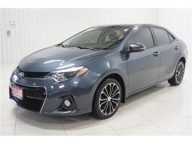 2015 Toyota Corolla S (Stk: P5376A) in Sault Ste. Marie - Image 1 of 21