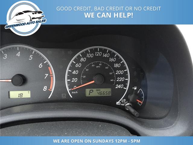 2012 Toyota Corolla CE (Stk: 12-13968) in Greenwood - Image 9 of 13