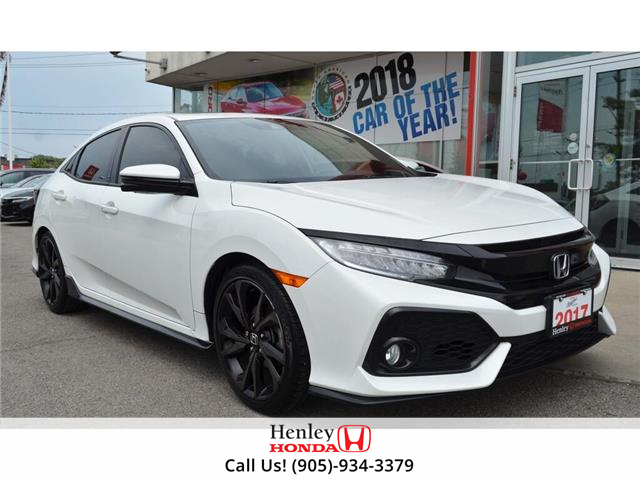 2017 Honda Civic Hatchback 2017 Honda Civic Hatchback - 5dr CVT Sport Touring (Stk: B0889) in St. Catharines - Image 1 of 21