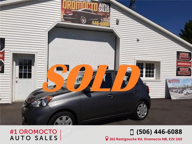 2018 Nissan Micra S (Stk: -) in Oromocto - Image 1 of 13