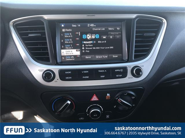 2019 Hyundai Accent Preferred (Stk: B7401) in Saskatoon - Image 15 of 28