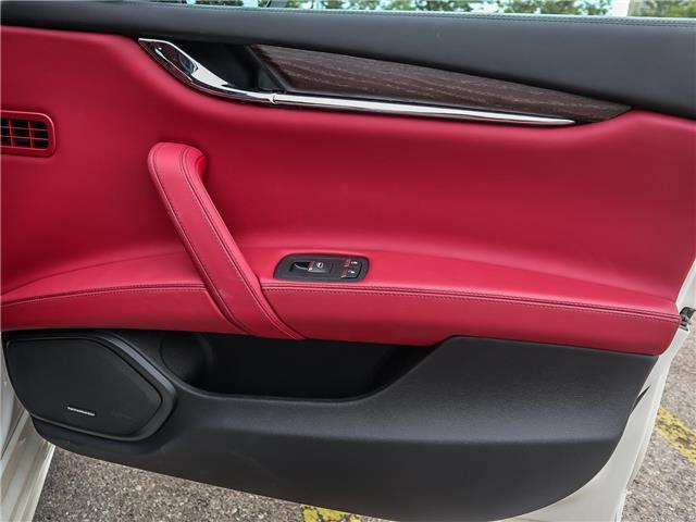 2018 Maserati Quattroporte S Q4 GranLusso (Stk: 504MA) in Oakville - Image 19 of 30
