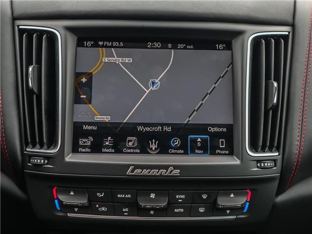 2017 Maserati Levante S (Stk: U438) in Oakville - Image 17 of 29
