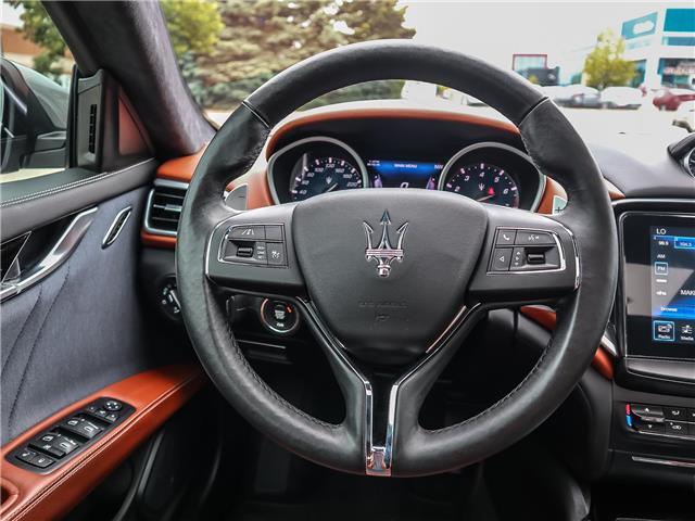 2017 Maserati Ghibli S Q4 (Stk: U440) in Oakville - Image 12 of 30