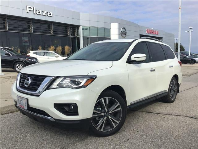 2019 Nissan Pathfinder Platinum (Stk: A8306) in Hamilton - Image 1 of 12