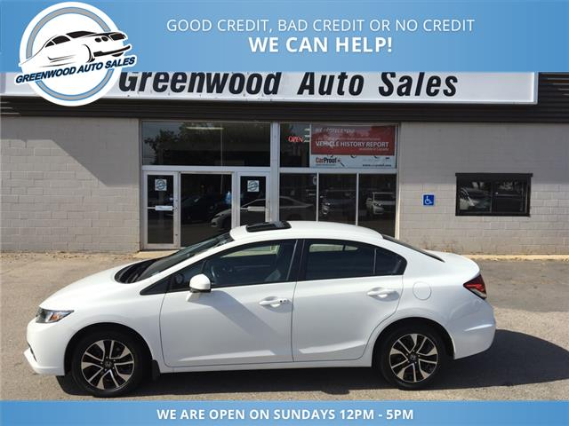 2015 Honda Civic EX (Stk: 15-11636) in Greenwood - Image 1 of 17