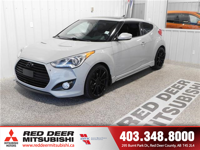2013 Hyundai Veloster  (Stk: P8539) in Red Deer County - Image 1 of 15