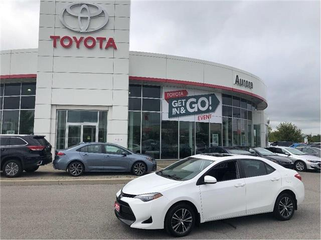 2017 Toyota Corolla LE (Stk: 310871) in Aurora - Image 1 of 18