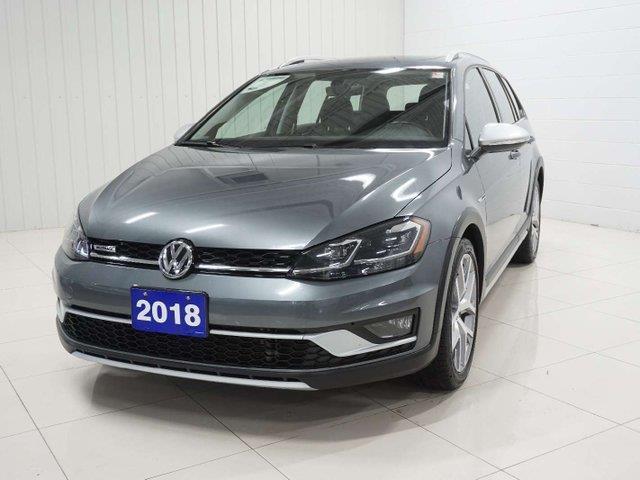 2018 Volkswagen Golf Alltrack 1.8 TSI (Stk: V0475) in Sault Ste. Marie - Image 1 of 24